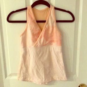 Baby pink lulu top